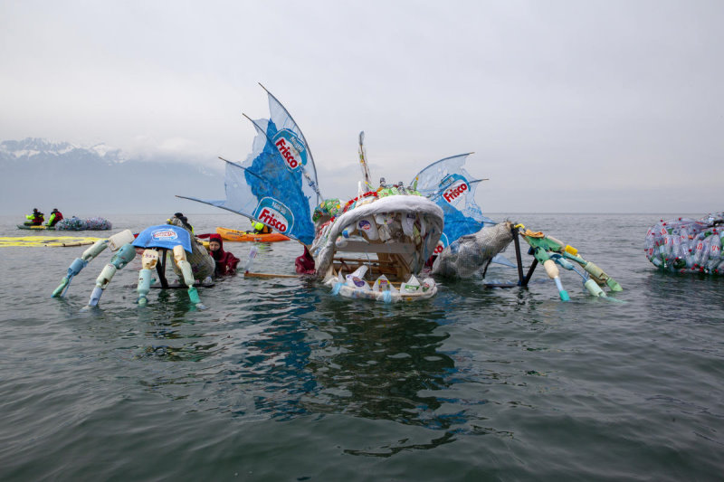 The Plastic Monster's Image Should Be Plastered In Our Heads To Remind Us Of Not Polluting Our Oceans