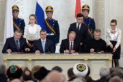 Ukraine, Poland, And The U.S Join Hands And Sign The Gas Treaty